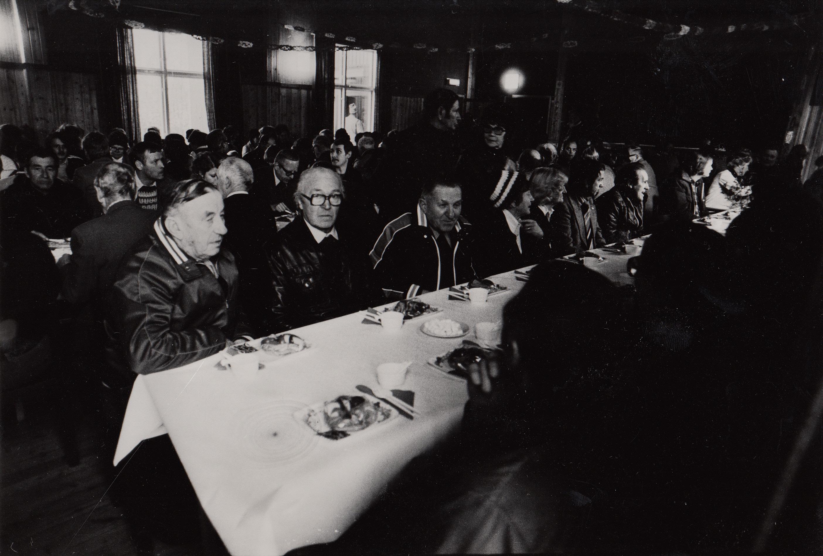 1978-10-28 Te-supé i Folkets Hus efter broinvigningen