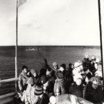 1978-10-28 Färjan gör sin sista tur medan Seskarborna avvaktar broinvigningen