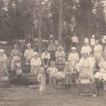 Tvättdags Mattinjärvi tidigt 1920-tal